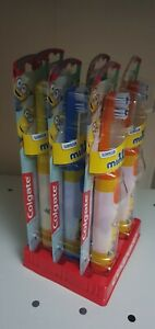 6 X New Battery Colgate Minions Tooth Brushes bnwb 0771