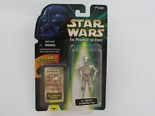 1998 HASBRO STAR WARS EPISODE I POTF FLASHBACK PHOTO C3PO WITH REMOVABLE ARM