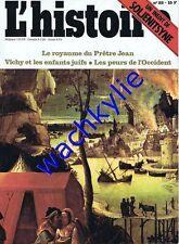L'histoire n°22 - 04/1980 soljenitsyne Souvarine juifs Vichy gratte-ciel Medicis