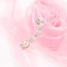 Earring Crystal Plated Pearl Hook Fashion Ear Earrings Clip