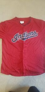 Cleveland Indians Jersey Size XL Officially licensed product Fast Shipping SGA