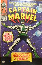 Captain Marvel #1 (Marvel Comics) Silver Age