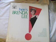 here s Brenda Lee Vocalion LP