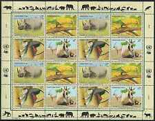 Timbres Animaux Nations Unies Vienne F 200/3 ** année 1995 lot 4209