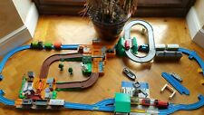 Thomas & Cranky and Thomas & Terence 2 x deluxe action sets with boxes
