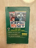 1990 PRO SET FOOTBALL SERIES I WAX PACK BOX-FACTORY SEALED