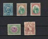 GUATEMALA    EARLY MOUNTED MINT OR USED STAMPS  REF 6777