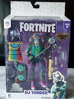 """🧨Fortnite Legendary🍔Series 6"""" DJ Yonder Action Figure Pack Toy Jazwares...!!!"""