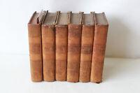 Livre Oeuvres de J.B POQUELIN de MOLIERE 1805 en six tomes
