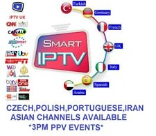 12 Months IPTV Subscription Warranty Firestick, MAG, Android, SmartTV, M3U, UK