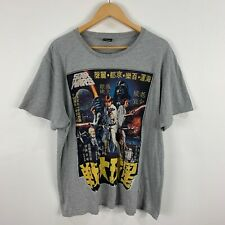Star Wars T-Shirt Mens 2XL Grey Short Sleeve Round Neck Lucasfilm