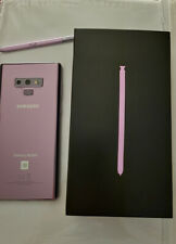 Samsung Galaxy Note9 128 GB Lavender Verizon Unlocked In Box With 2 Bonus Cases