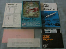 DRAGON'S EYE 1980 Apple II Computer Epyx Video Game Early Release COMPLETE/RARE!