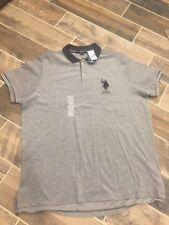 U.S. Polo Assn Classic Fit Short Sleeve  Polo Shirt  Big Pony Logo XXL Black New