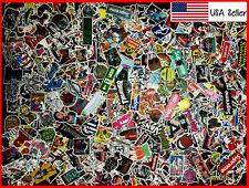 500 New Random Skateboard Stickers bomb Laptop Luggage Decals Dope Sticker Lot