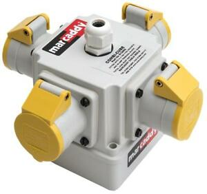 Combi-Cube With 4X 16A 110V Sockets - 613002