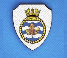 HMS LOYALTY WALL SHIELD