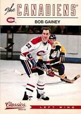 Bob Gainey 168 2012-13 Classics Signatures