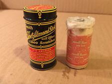 Vintage ZENITH TIBET-ALMOND STICK Mint Tin USED STICK- Efface Wood Scratches