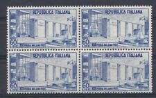 Italia 1952 30 Fiera di Milano 685 in quartina mnh