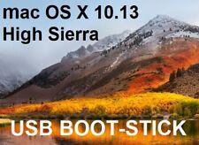 mac OS X 10.13 High Sierra USB Boot Stick Apple Neu-Installation Update Recovery