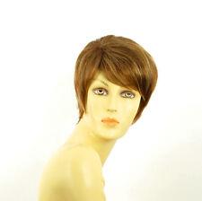 short wig for women brown copper wick light blond ref elsa 6bt27b PERUK