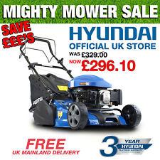 """Roller Lawnmower 18"""" 46cm Cut Petrol Self Propelled Lawn Mower Hyundai HYM460SPR"""