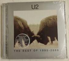 U2 The Best Of  1990-2000 2-CD+DVD Primera edición EU 2002 & B-Sides precintado