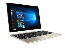 """Toshiba Click 10 LX5W-C-109 10.1"""" 2 in 1 Laptop Tablet Intel Atom Z8300 4GB 64GB"""