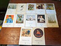 Fernand Hazan Paris 1950's Art Paperbacks Japanese Van Gogh Monet Etc