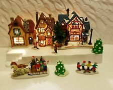 Christmas Village Display Platform for Lemax, Dept 56, Dickens, North Pole