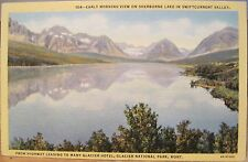 Montana Postcard Sherburne Lake Glacier National Park Swiftcurrent Valley Keenan