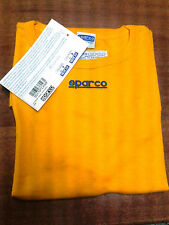 T-SHIRT SPARCO RACING UNDERWEAR NO FIA - SIZE M-L YELLOW EXPIRED HOMOLOGATION