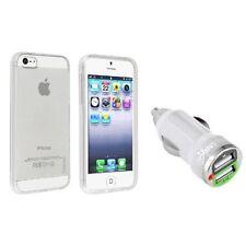 Étuis, housses et coques avec clip blancs transparents pour téléphone mobile et assistant personnel (PDA)