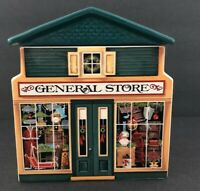 Vintage Avon McConnell's Corners General Store Covered Ceramic Box NEW