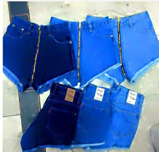 BLUE BANGKOK HIGH WAIST SHORT ZIPPER MEDIUM