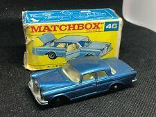 Lesney Matchbox England #46 Mercedes 300 SE Coupe Vintage
