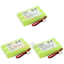 3x Baby Monitor Rechargeable Battery for Graco iMonitor Vibe 2791VIB1 2796VIB1