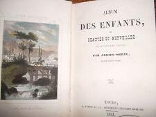 Album des enfants, ou Beautés et merveilles de la nature en France,Morel