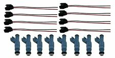8 Fuel Injectors for 01-07 Ram 1500 Durango Dakota Grand Cherokee 4.7L 4 Nozzle