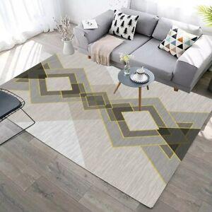 Print Carpet for Room Bedroom Anti-slip Modern Floor Rug Carpet for Parlor Mat