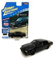 Johnny Lightning 1:64 1987 Buick Grand National GNX Diecast Model Black JLCP7178