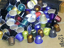 100 x Nespresso Assorted Flavour Capsules (Capsules Are Dented) Sold Loose