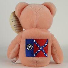 1999 Collectible Quarter Bear #4 - Georgia (OLD FLAG)