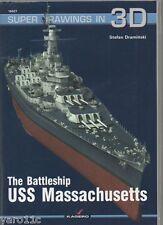 *The Battleship USS Massachusetts - Super Drawings in 3D - Kagero