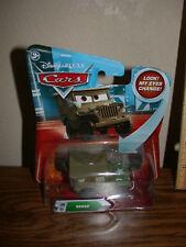 Disney Cars Sarge!-Free Fast Ship!L@@K!Eyes Change!