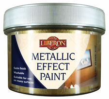 LIBERON METALLIC EFFECT PAINT 250ml CHOICE OF 10 COLOURS