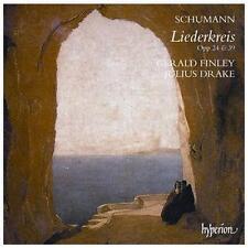 CD Schumann Liederkreis Opp 24 & 39 Gerald Finley Julius Drake NEW