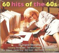 60 HITS OF THE 60s - 3 CD BOX SET - THE BEATLES * THE SHADOWS & MANY MORE