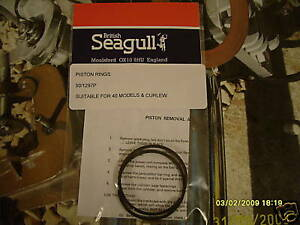 British Seagull Outboard Piston Rings GENUINE SEAGULL PARTS 40 Series